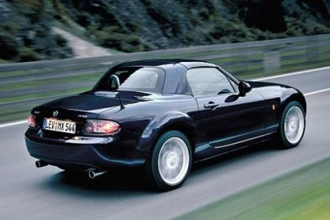 Test Mazda MX-5 Roadster Coupe