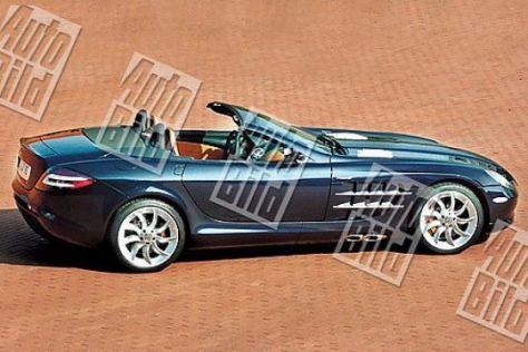 Erlkönig Mercedes SLR Cabrio