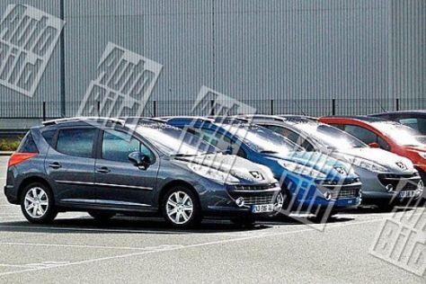 Erlkönig Peugeot 207 SW