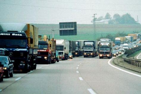 Überholverbot für Lkw