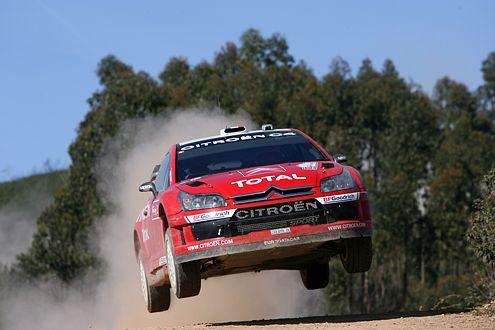 Loebs Citroën C4 ging in Portugal mit 1268 kg über die Waage. Der Ford von Grönholm wog nur 1235 kg.
