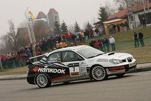Mit dem Subaru Impreza WRX STI hat Ellen Lohr bei der Ostalb-Rallye schon mal geübt.