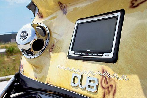 Audio-Visuelle Einbauten sind Pflichtprogramm beim DUB-Style.