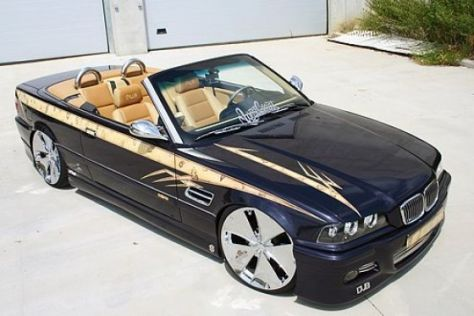 BMW 3er Cabrio von David Verreydt
