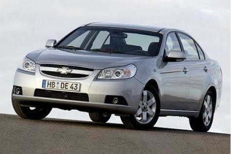 Chevrolet Autogas-Modelle