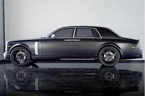 Groß, schwarz, 750.000 Euro teuer: Das ist der Mansory Conquistador.