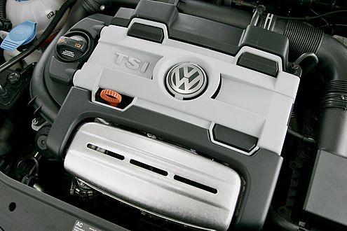 Jenseits von 6000/min erinnert der TSI-Motor an ein Sporttriebwerk.