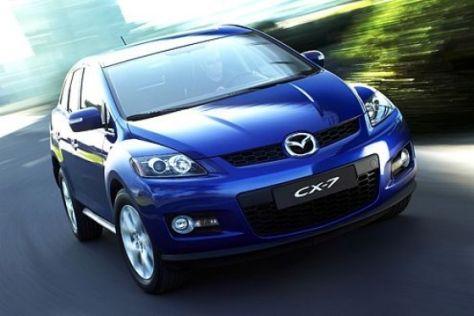Mazda CX-7 Vorverkaufsaktion