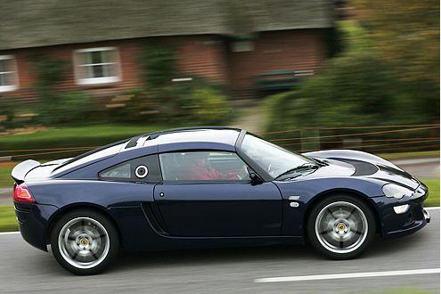 Puristischer Sportwagen: ESP entspricht nicht dem Stil des Lotus.