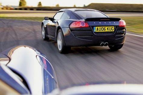 Test Porsche Cayman/Lotus Europa S