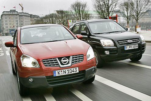 Diese beiden SUVs machen den Einstieg in die Allradwelt leicht.