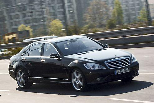 Größer, geräumiger, fahraktiver: der Mercedes-Benz S 600.
