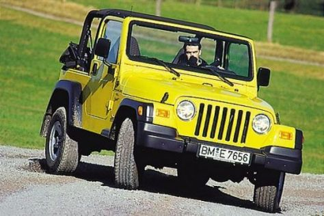 Rückruf Jeep Wrangler