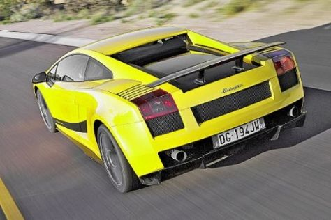 Test Lamborghini Gallardo Superleggera