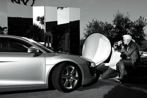 Lagerfeld fotografiert Audi R8