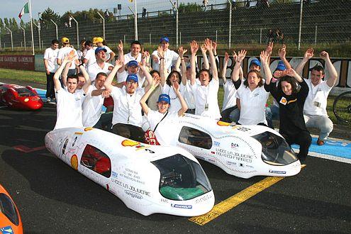 Glückliche Gewinner: 2006 siegte das Lycée La Joliverie aus Nantes (FRA).