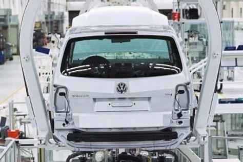 VW-Stammwerk ausgelastet