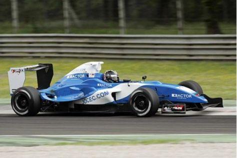 Tracktest Formel S2000