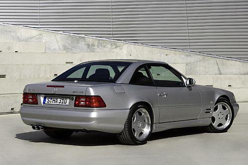 525 PS: 1999 brachte AMG mit dem SL 73 den stärksten Roadster der Welt.
