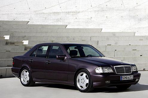 Zusammen mit Mercedes entwickelt und gebaut: der C 36 AMG von 1993.