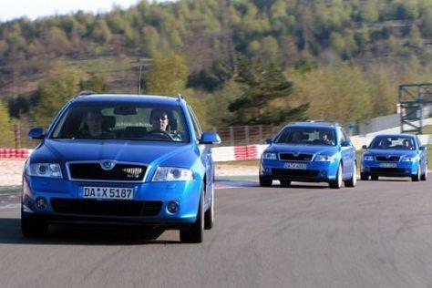 Fahrtraining im Skoda Octavia RS