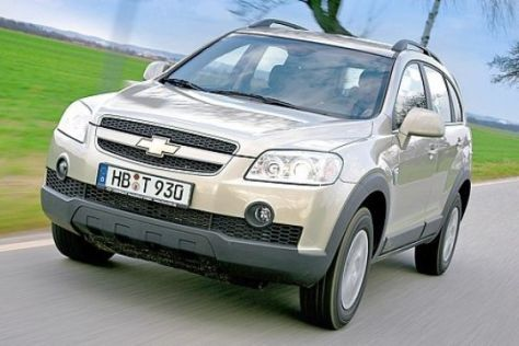 Test Chevrolet Captiva 2.4 4WD