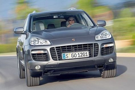 Test Porsche Cayenne Turbo