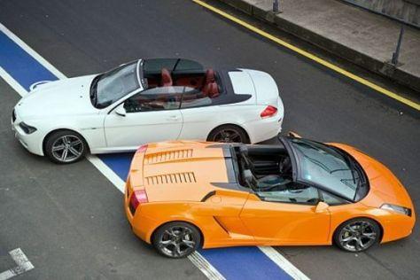 Test M6 Cabrio/Gallardo Spyder