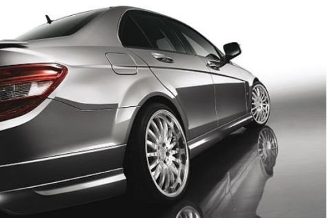 Mercedes C-Klasse mit Carlsson CK35-Kit