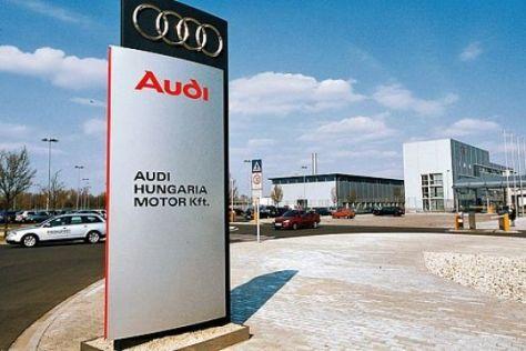 Drittes Audi-Modell aus Ungarn