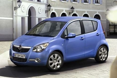 Neuvorstellung Opel Agila