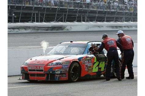 NASCAR: Jeff Gordon mit Jubel-Abo