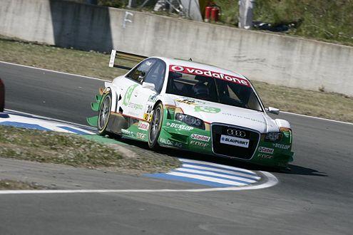 Selbst der Audi A4 Baujahr 2005 von Adam Carroll schaffte in Oschersleben Rang neun.