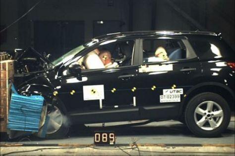 EuroNCAP-Crashtest Nissan Qashqai