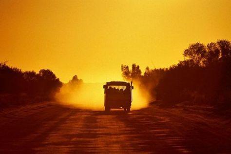 Per Bus nach Australien