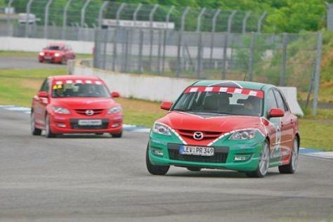 Mazda-Fahrtraining