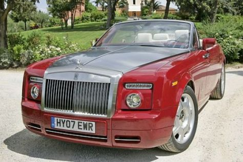Test Rolls-Royce Phantom Drophead Coupé