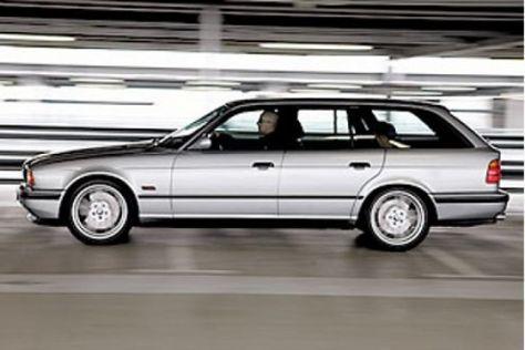 BMW M5 Touring gestern und heute