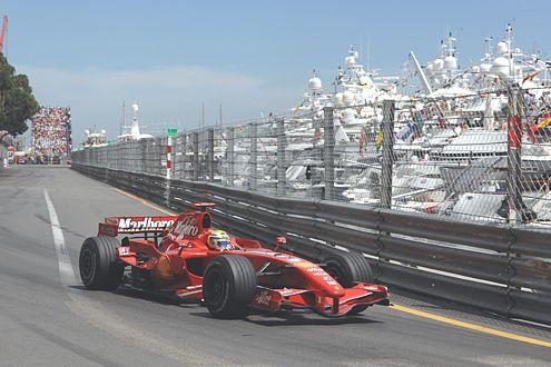 Felipe Massa fuhr den Silbernen hinterher. Platz drei im Rennen und in der WM-Wertung.