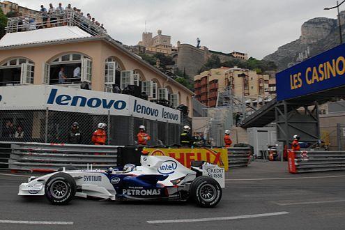 Nick Heidfeld war im Sauber-BMW zum wiederholten Mal bester Deutscher.