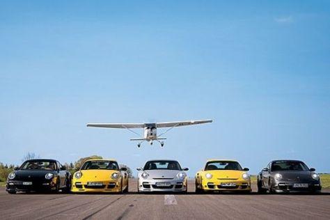 Fünf getunte 911 Turbo im Test