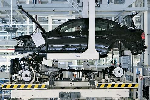 Eigentlich arbeitet Frank Winkler gern am 3er im BMW-Werk-Leipzig.