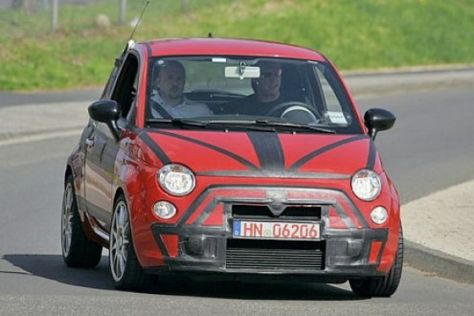 Erlkönig Fiat 500 Abarth