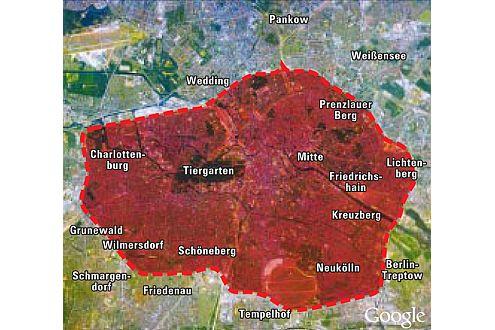 Feinstaubzirkel Berlin: Oldtimer sollen nur 700 Kilometer pro Jahr fahren dürfen.