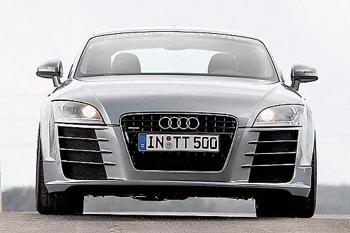 Fährt fast, wie er aussieht: RTT 400 RS im Audi-R8-Look.