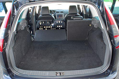 Ford: nicht der besten VDA-Wert, aber einen gut nutzbaren Kofferraum.