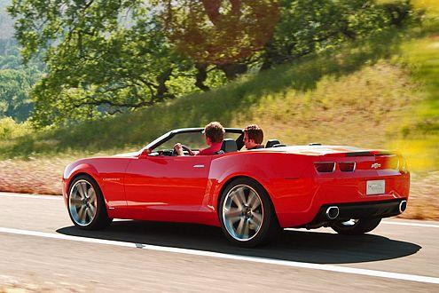 Soll 2009 auf den Markt kommen: das Chevrolet Camaro Cabrio.