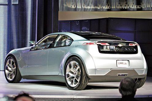 GM setzt beim Chevrolet Volt auf die modernen Lithium-Ionen-Akkus.