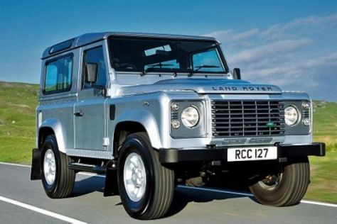 Test Land Rover Defender 90 SW