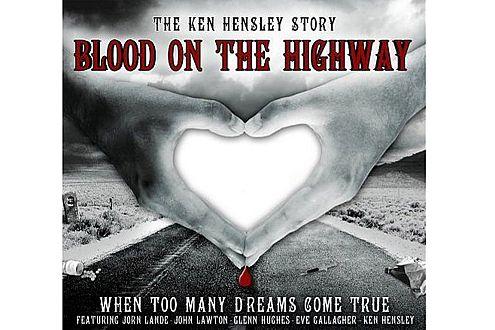 """Frisch auf dem Markt: Hensleys neues Album """"Blood on the Highway"""""""